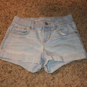 Old Navy boyfriend shorts size 0 regular